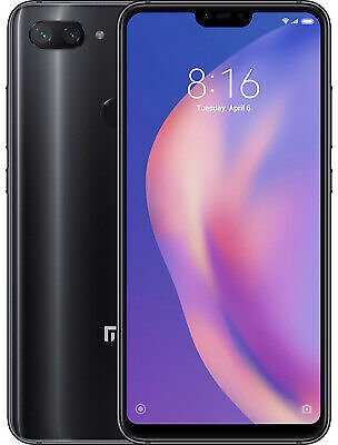 Xiaomi MI 8 Lite 64GB Midnight Black New Dual SIM 6,26