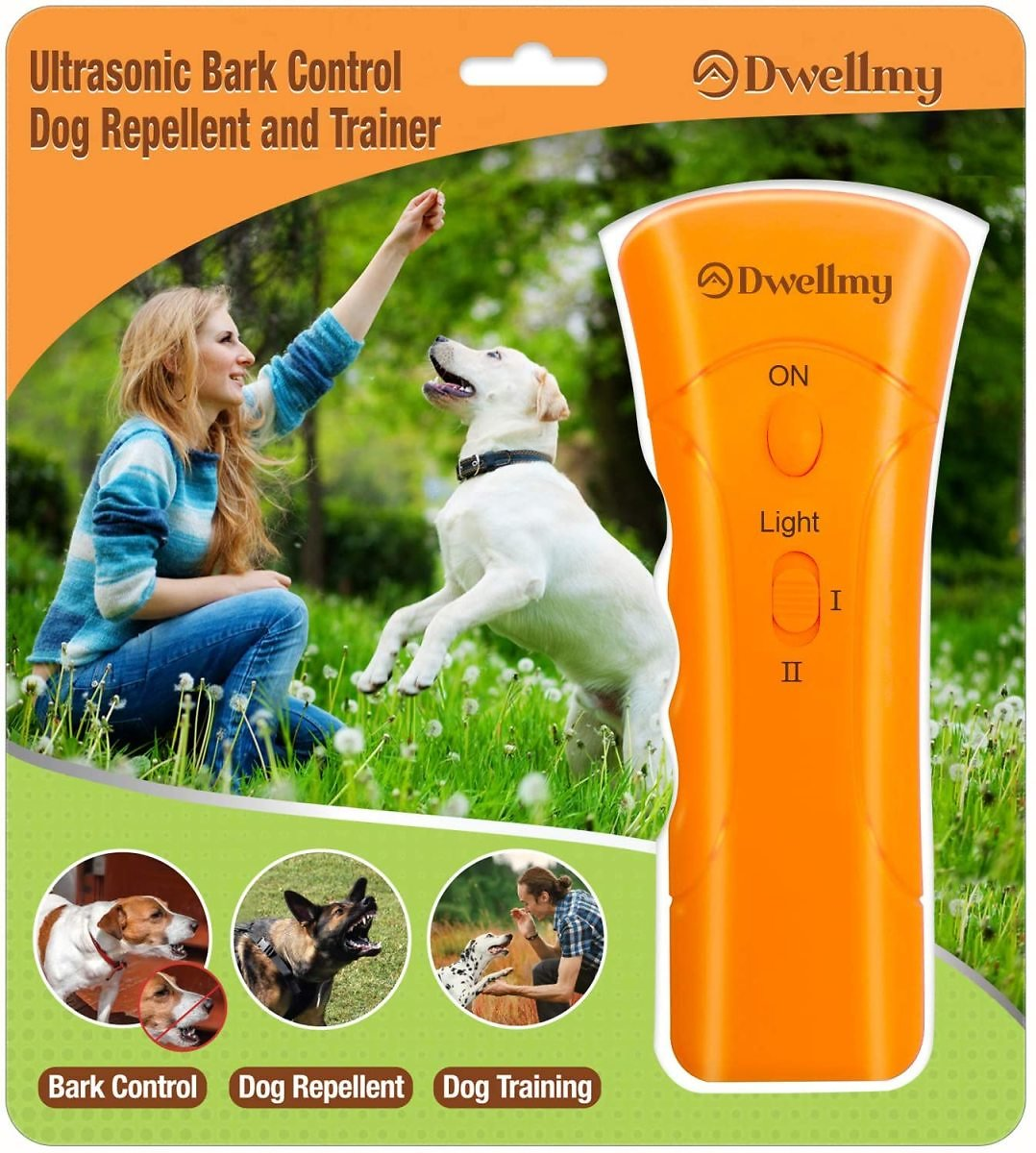 30% Off Ultrasonic Dog Trainer and Barking Control with LED Flashlight