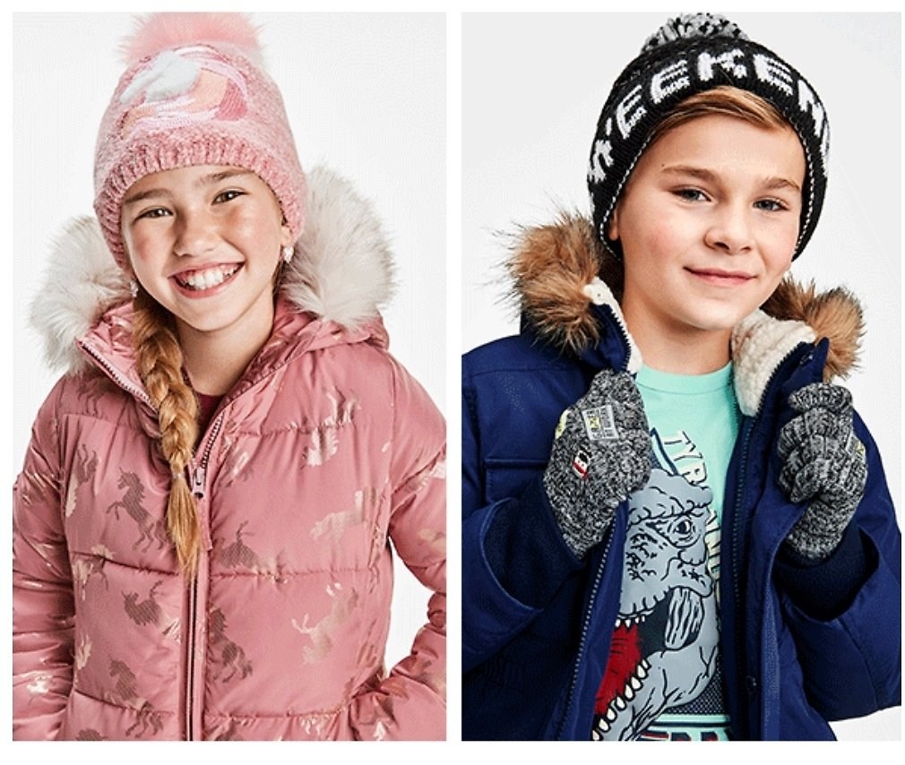The Children's Place: 50% Off All Outwear and Cold Weather Accessories + Free Shipping