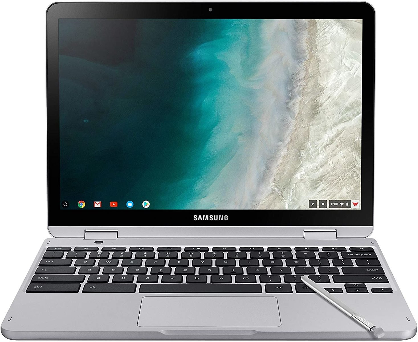 Samsung Chromebook Plus V2 2-in-1 Laptop- 4GB RAM, 64GB EMMC, 13MP Camera, Chrome OS, 12.2