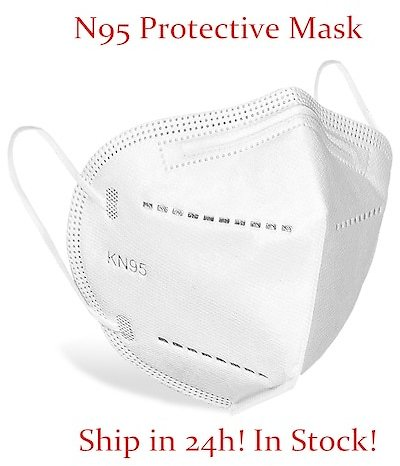 N95 KN95 Masks Anti Dust Bacterial Protective Masks Filtration Non-woven FFP2 Mouth Cover Non-medical