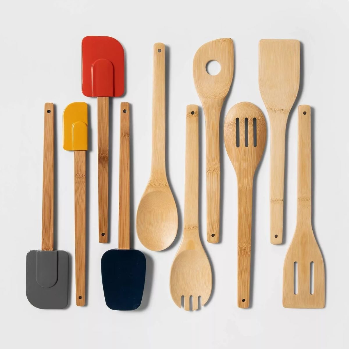 10pc Wood and Silicone Tool Set - Room Essentials™