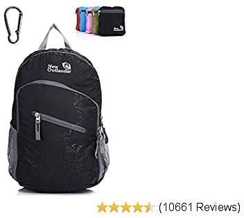 Outlander Ultra Lightweight Packable Water Resistant Travel Hiking Backpack Daypack Handy Foldable Camping Outdoor Backpack