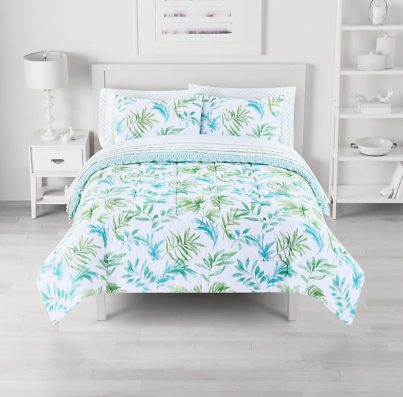 The Big One® Breezy Palms Reversible Comforter Set with Sheets