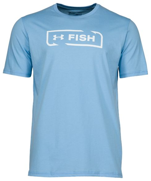 Under Armour Fish Icon Logo Short-Sleeve T-Shirt for Men   Bass Pro Shops