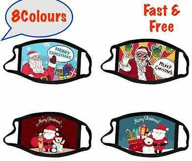 Lady-Muck3:Christmas Face Mask. Protective,Washable Breathable & Reusable.