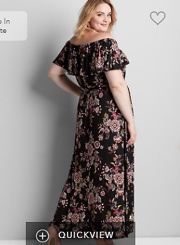 Convertible Paisley Maxi Dress | Lane Bryant