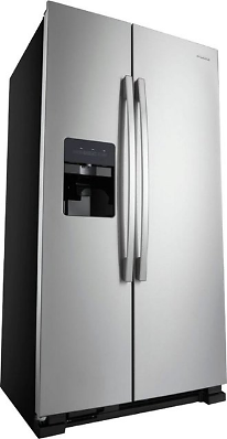 Amana 21.4 Cu. Ft. Side-by-Side Refrigerator Stainless Steel ASI2175GRS