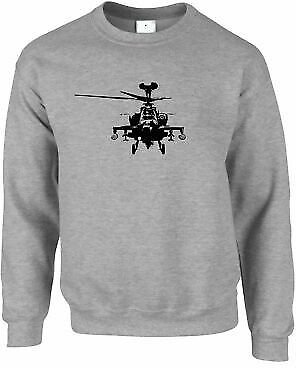 Military Jumper Apache Attack Helicopter AH64 Army Pilot Chopper Aircraft