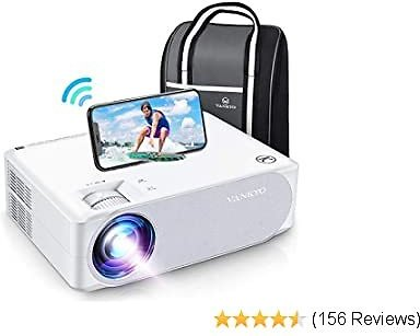 VANKYO Performance V630W Upgraded Native 1080P Projector, Full HD WiFi Projector, Supports 5G Synchronize Smartphone Screen & Max 300