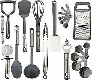 Stainless Steel Kitchen Utensils Set Non-Stick & Heat Resistant Cooking Utensils