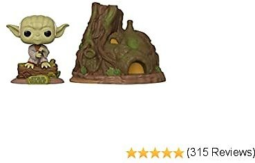Funko Pop! Town: Star Wars Yoda's Hut