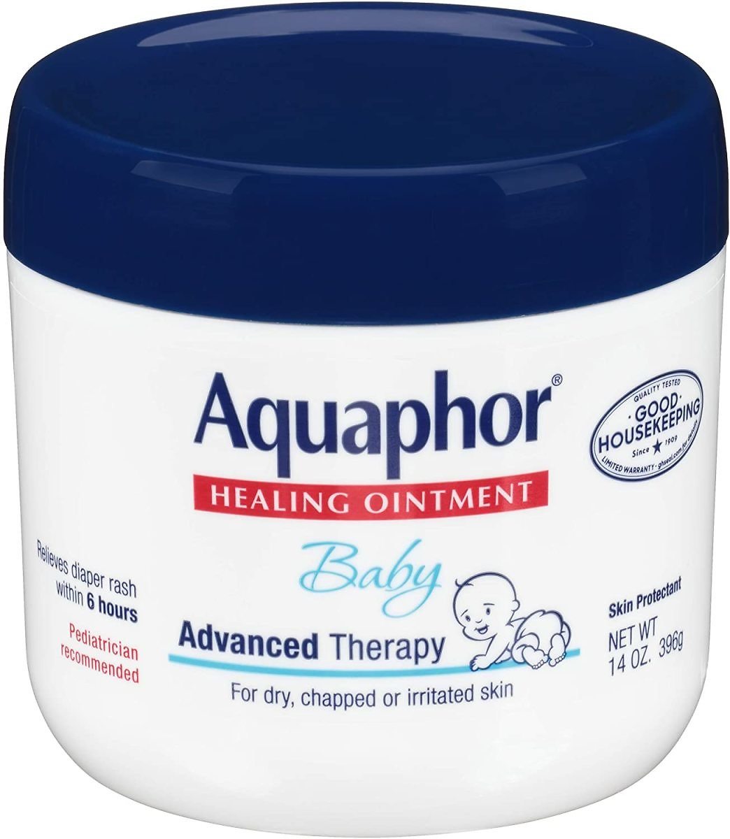 44% Off Aquaphor Baby Healing Ointment - Advance Therapy for Diaper Rash, Chapped Cheeks and Minor Scrapes - 14. Oz Jar