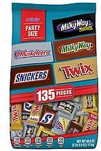 Mars Minis Size Chocolate Candy Bars Variety Mix Milky Way