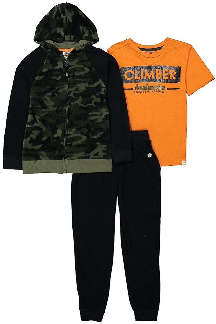 Love This Product Green & Black Camo Zip-Up Hoodie & Joggers Set - Boys