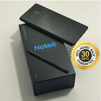 SAMSUNG GALAXY NOTE 8 SM-N950U 64GB BLACK VERIZON AT&T T-MOBILE FULLY UNLOCKED 887276224107