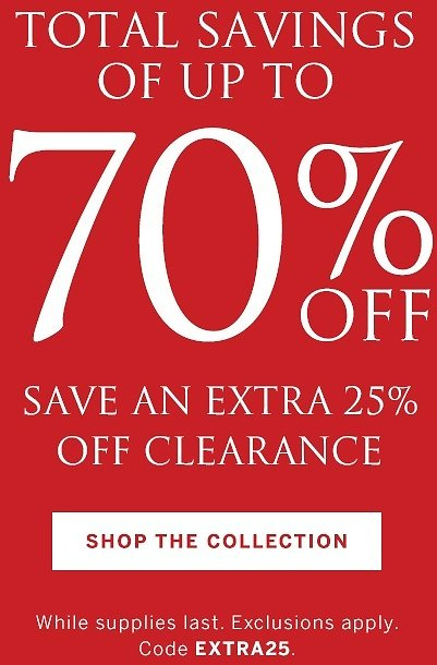 Up To 70% Off Total Savings + Extra 25% - Victoria Secret