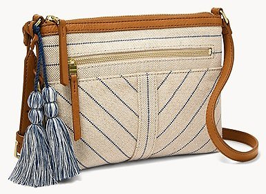 Fiona E/W Crossbody (2 Colors)