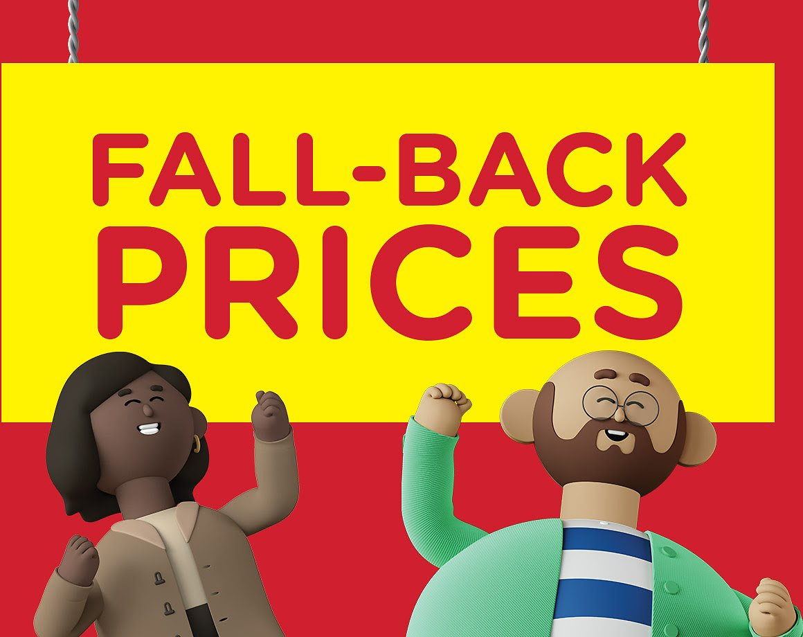 Fall-Back Prices On Seasonal Favorites - Kroger