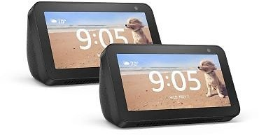 Amazon Echo Show 5 in Charcoal (Set of 2)