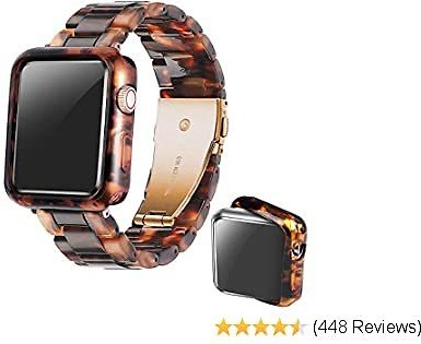 Omter 40mm Band with Case Compatible with IWatch Series SE/6/5/4,Series 3/2/1 $18.74