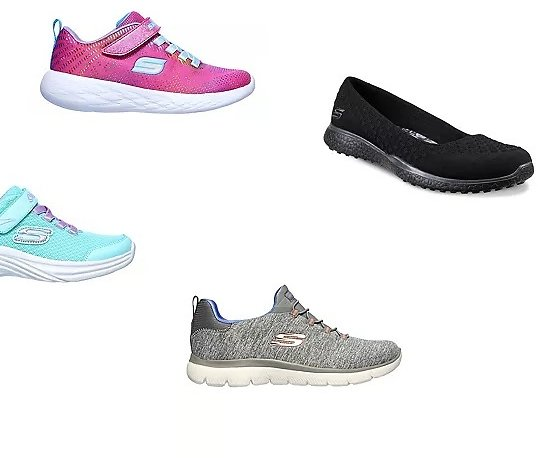 Skechers Shoes for The Family from $23.99