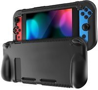 Silicone Case for Nintendo Switch - Fintie Soft Anti-Slip Shock Proof Protective Cover with Ergonomic Grip Design