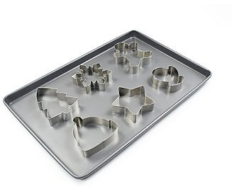 Martha Stewart Collection Half Sheet Baking Pan with 6 Cookie Cutters, Created for Macy's & Reviews - Kitchen Gadgets - Kitchen