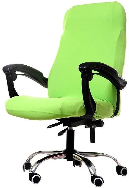 S/M/L Sizes Office Stretch Spandex Chair Covers Anti-dirty Computer Seat Chair Cover Removable Slipcovers