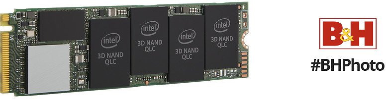 Intel 512GB 660P NVMe M.2 Internal SSD