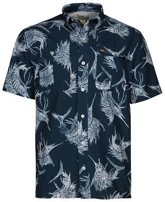Bob Timberlake Sailfish Print Short-Sleeve Shirt for Men | Bass Pro Shops