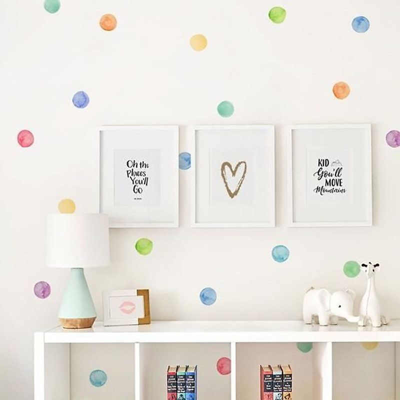 US $12.15 |29 Pcs/Set PVC Baby Wall Decals Colored Dots Creative Stickers for Children Vinyl Nursery Room Decoration|Wall Stickers| - AliExpress