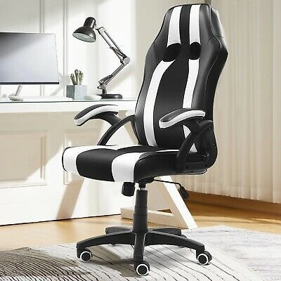 Office Chairs Adjustable Reclining Gaming Executive Desk Computer Furniture