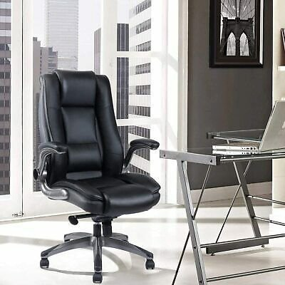 REFICCER Office Chair High Back Leather Ergonomic Executive Computer Desk Chair