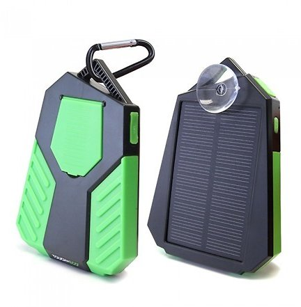 Touch Of ECO Sunvolt Solar Dual Smartphone Waterproof Charger, Your Choice