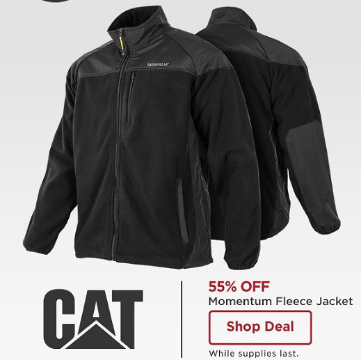 Men's CAT Momentum Fleece Jacket