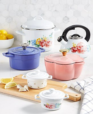 Martha Stewart Collection Garden Party Dinnerware and Kitchen Collection, Created for Macy's & Reviews - Dinnerware - Dining