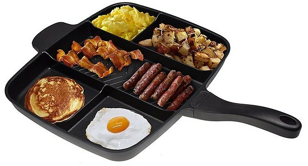 15'' Master Pan Divided Meal Skillet