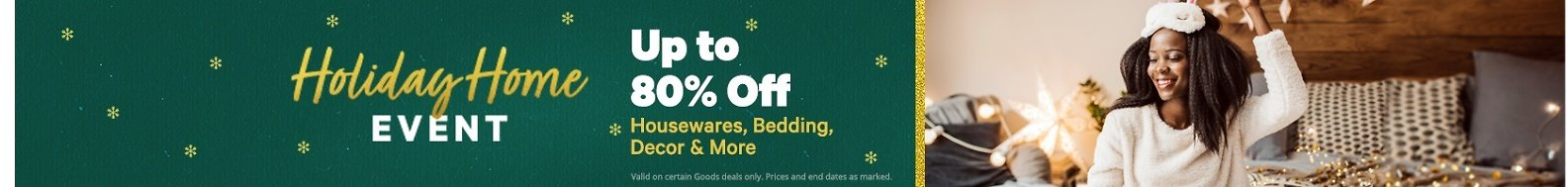 Up To 80% Off Holiday Home Event | Groupon