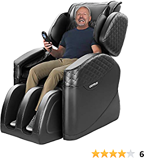2020 New Massage Chair, Massage Chairs Full Body and Recliner, Zero Gravity Massage Chair, Airbags Shiatsu Massage Chair Recliner with Lower Back Heating and Foot Roller