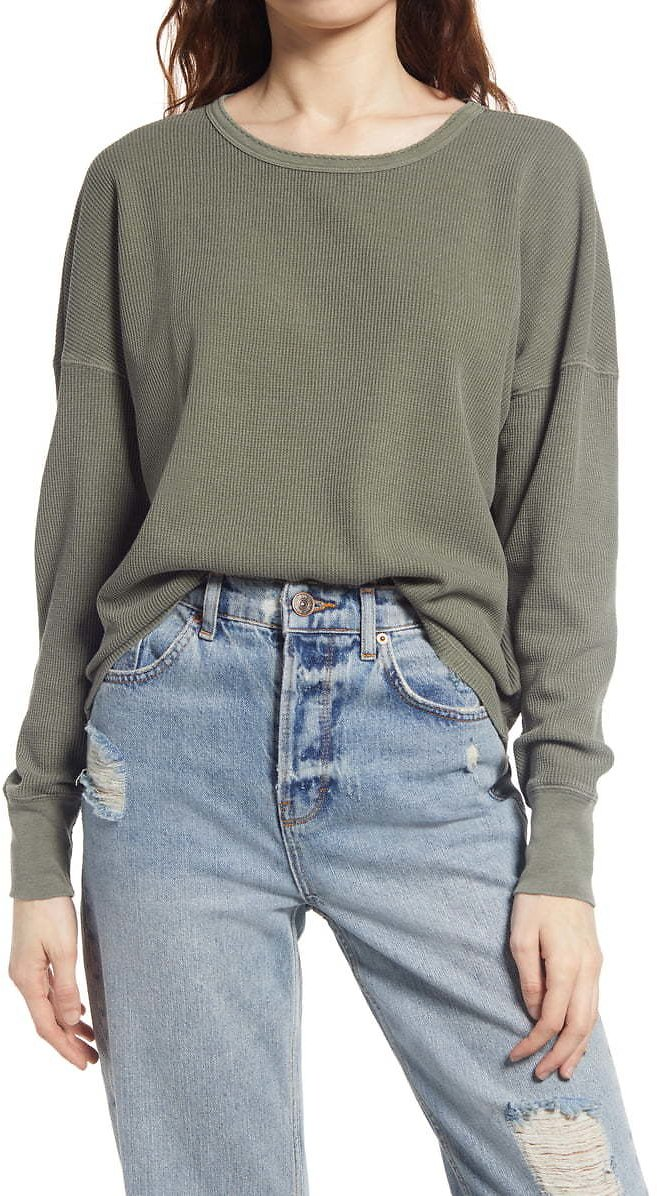BP. Washed Thermal Top | Nordstrom