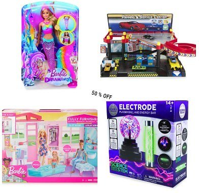 50% Off All Toys  | Big Lots