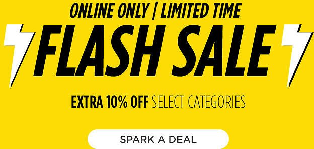Extra 10% Off Select Categories Flash Sale - Sears