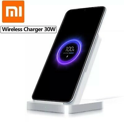 New Xiaomi Mi 10 2020 Ultra 30W Vertical Wireless Charger Fast Charging Stand