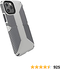 Speck Products 129892-8396 Presidio Grip IPhone 11 Pro Case, Marble Grey/Anthracite Grey