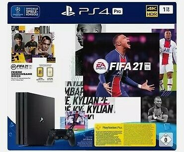 Sony Playstation 4 Pro FIFA 21 Bundle *** NEW *** Bill + 2 Year Warranty ***