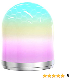 Night Light for Kids, Dimmable Bedside Lamp Rechargeable Nursery Lamp Warm White RGB Color Changing, 72 Hours Runtime for Bedrooms Living Rooms Breastfeeding Sleeping, Best Gift for Kids, Teens