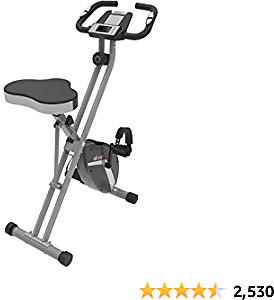 ATIVAFIT Best Indoor Cycling Bike Folding Magnetic Upright Bike Stationary Bike Recumbent Exercise Bike
