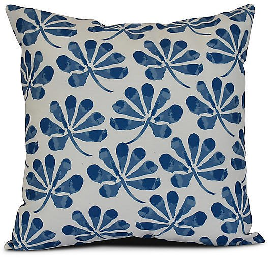 Petal Outdoor Pillow, Blue | One Kings Lane