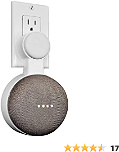 Extra 50% Off Wall Mount Holder for Google Home Mini Space Saving Accessories Google Home Mini Voice